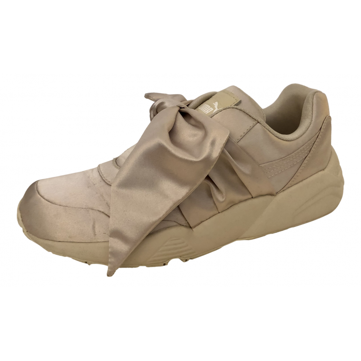Fenty X Puma \N Sneakers in  Beige Polyester