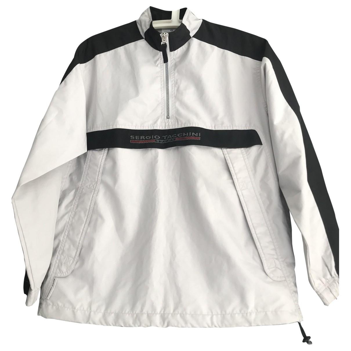 Sergio Tacchini \N Grey Leather jacket for Women 40 FR