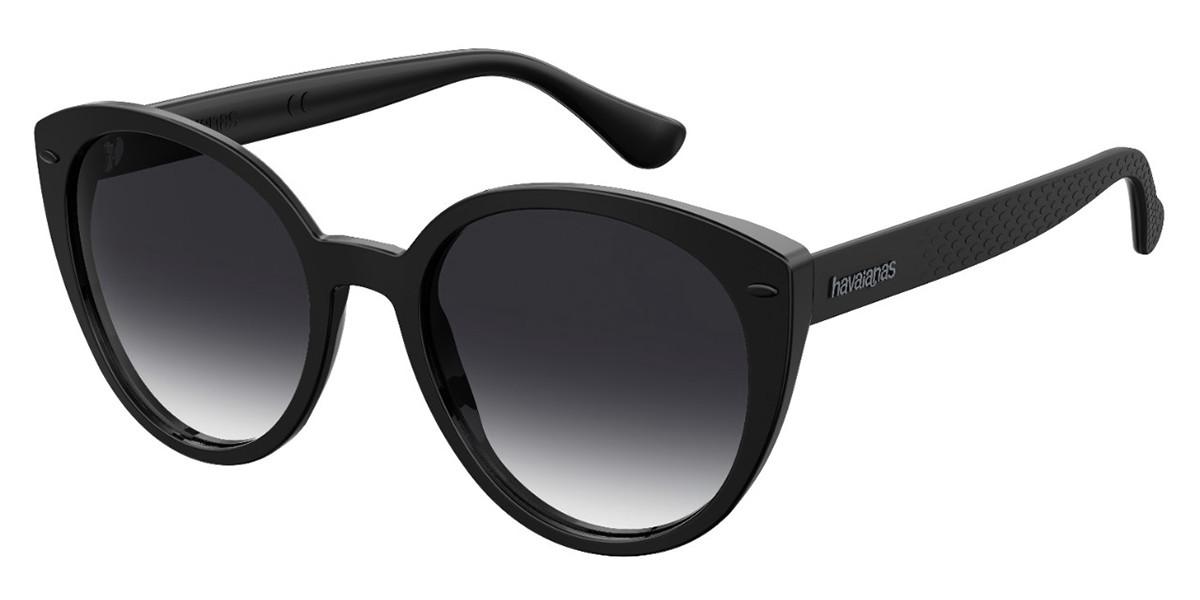 Havaianas MILAGRES 807/9O Women's Sunglasses Black Size 54