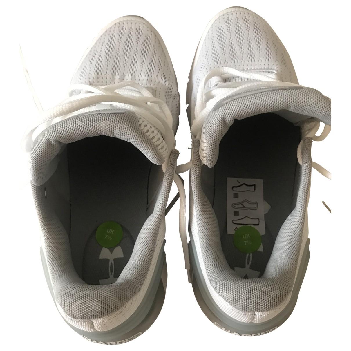 Under Armour \N Sneakers in  Weiss Leinen