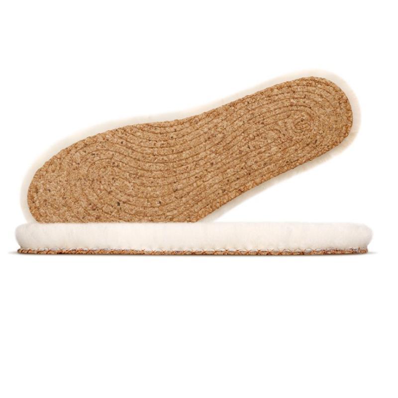XIAOMI XINMAI Women Natural Cork Wool Shoe Insole Warm