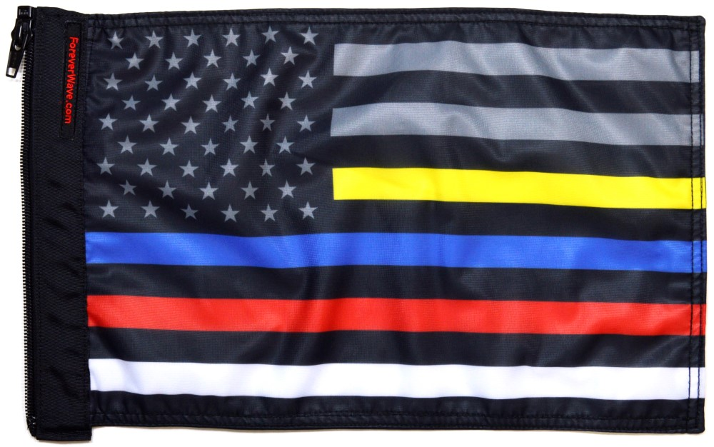 Forever Wave 5352 USA Subdued Protect The 3 Flag