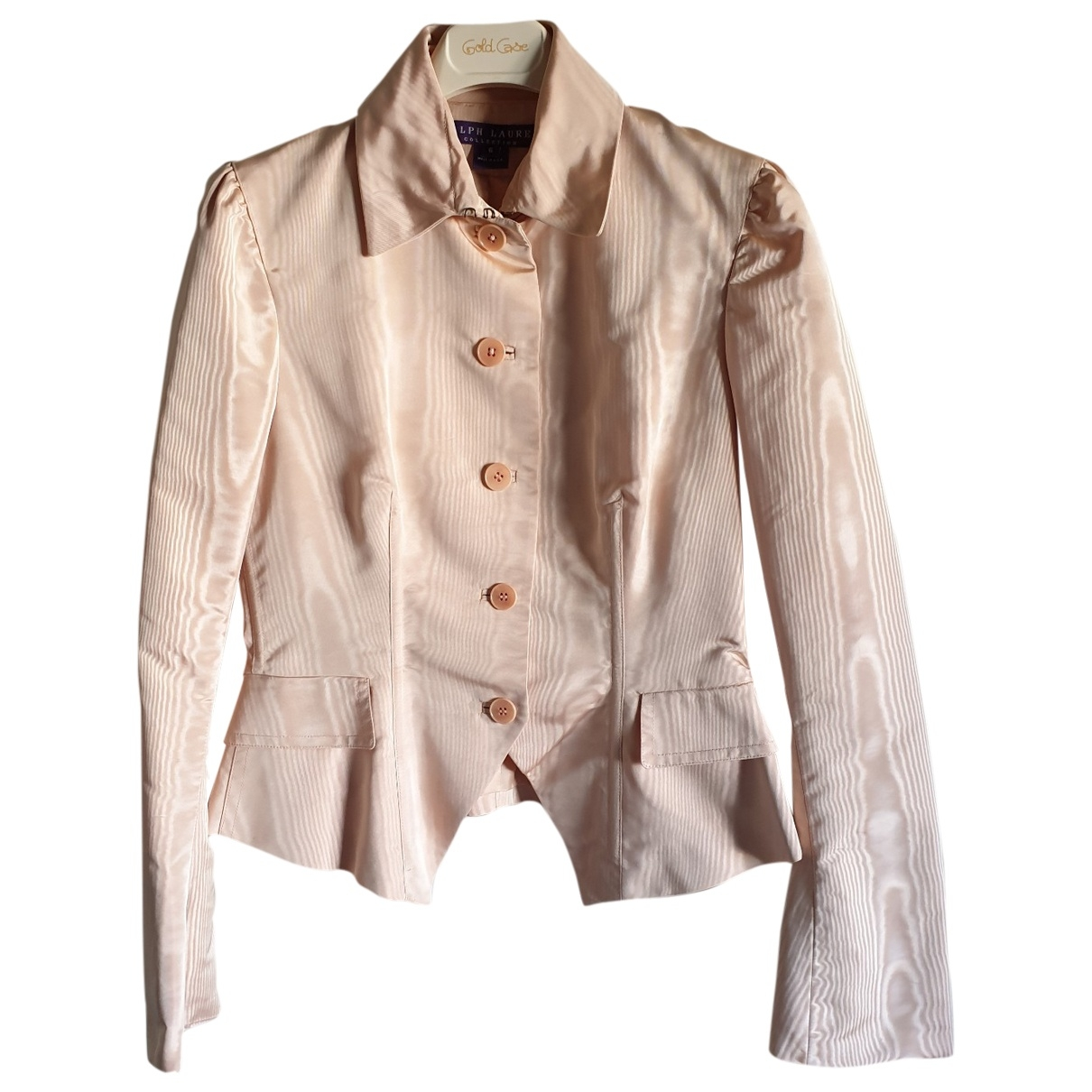 Ralph Lauren Purple Label \N Pink Silk jacket for Women 6 US