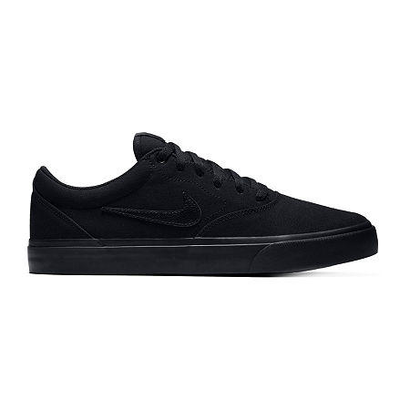 Nike SB Charge Canvas Mens Skate Shoes, 9 Medium, Black