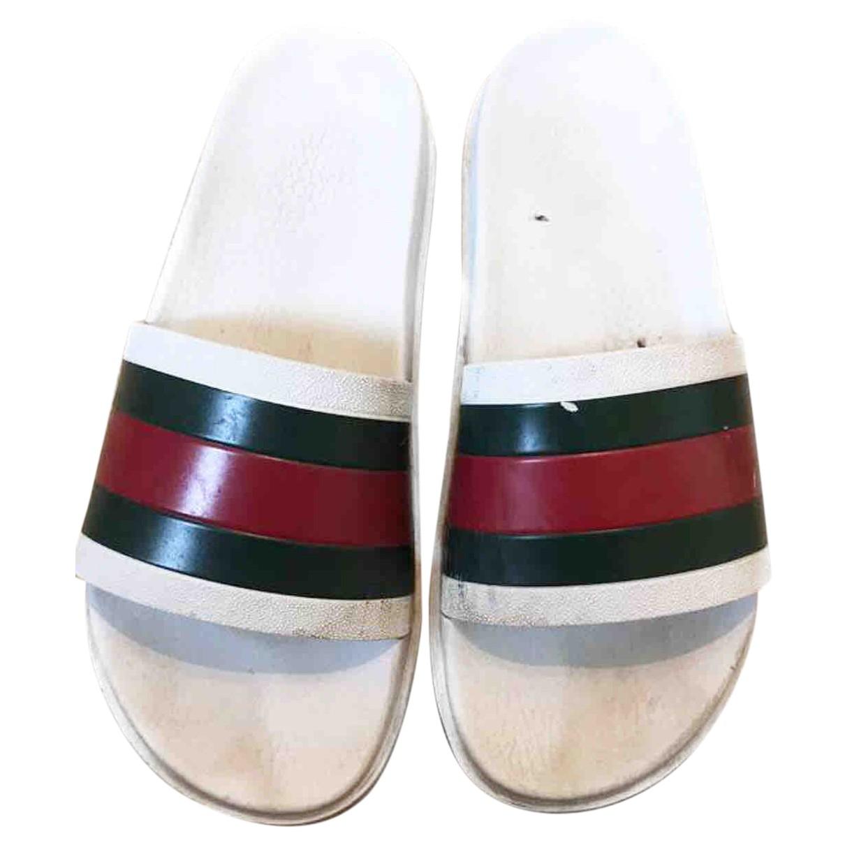Gucci N White Sandals for Men 43 EU