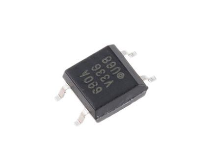 Vishay , SFH690ABT DC Input Transistor Output Optocoupler, Surface Mount, 4-Pin SOP (10)