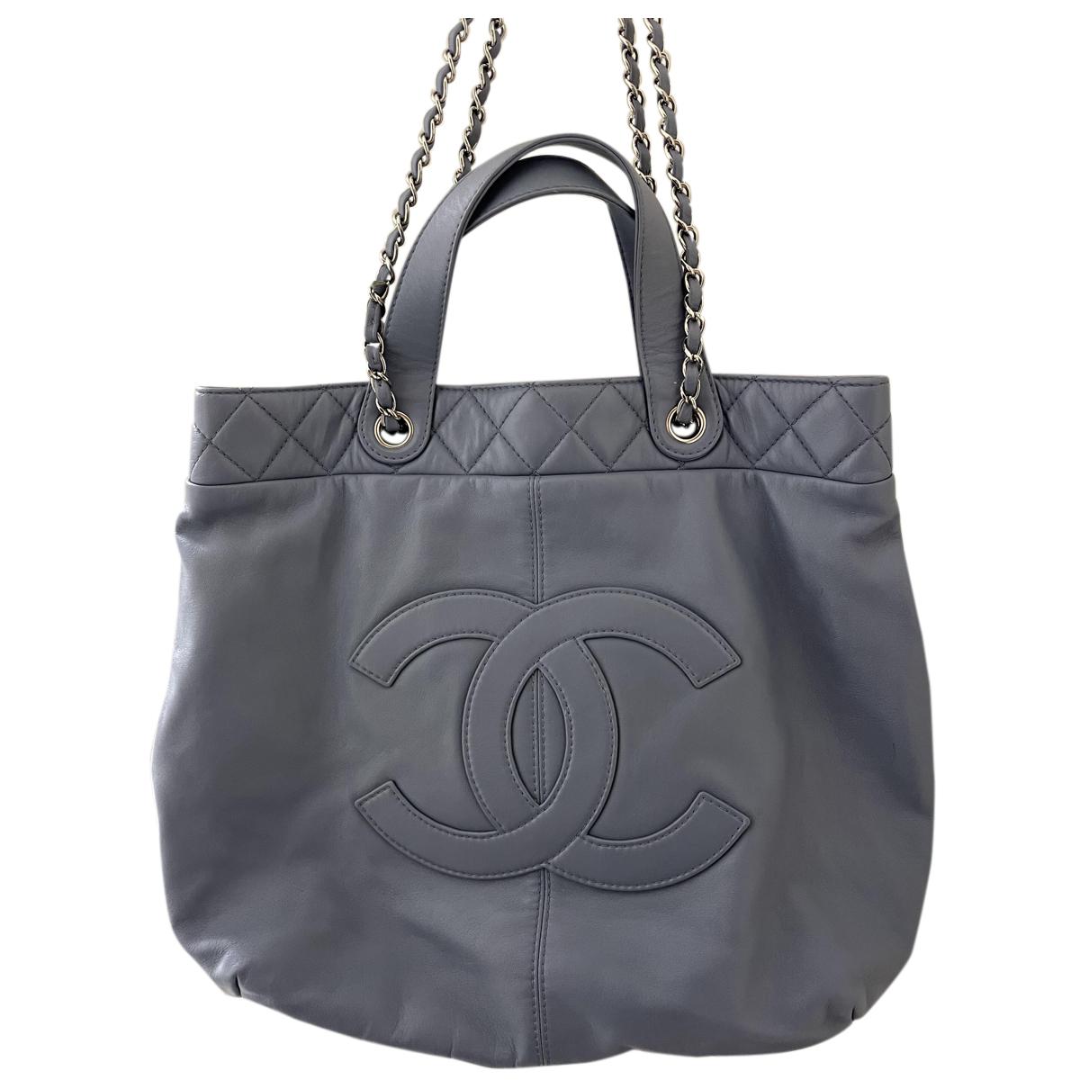 Chanel Portobello Blue Leather handbag for Women N