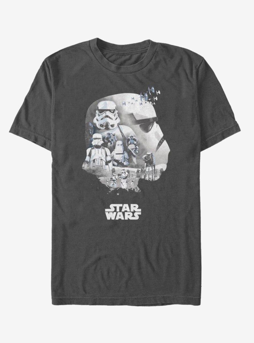 Star Wars Trooper Head Fill T-Shirt