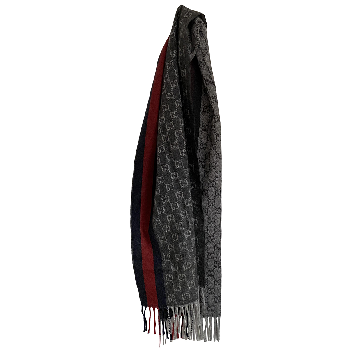 Gucci \N Grey Wool scarf for Women \N