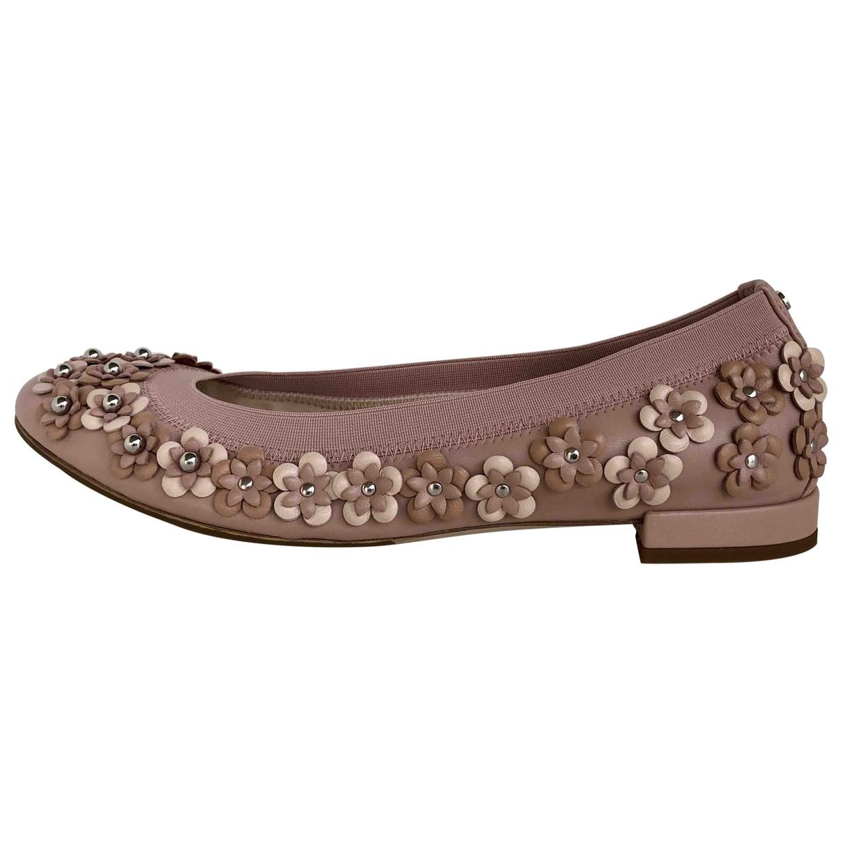 Dior \N Ballerinas in  Beige Leder
