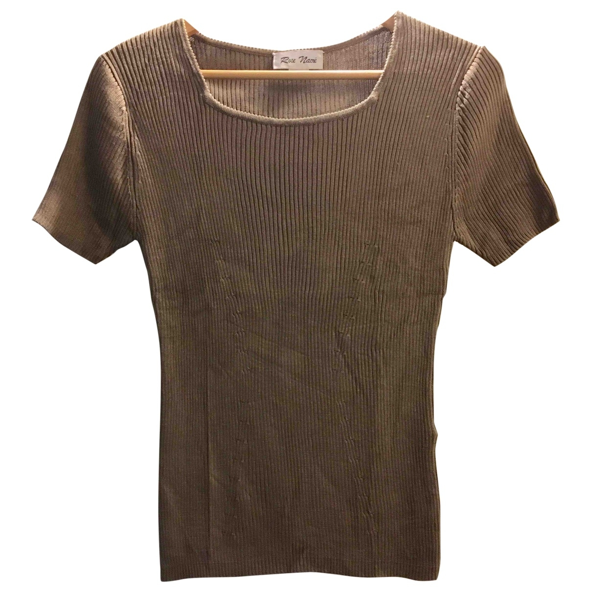 Non Signé / Unsigned \N Silk  top for Women 38 FR