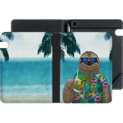 Amazon Kindle Voyage eBook Reader Huelle - Summer Sloth Drinking Mojito von Barruf