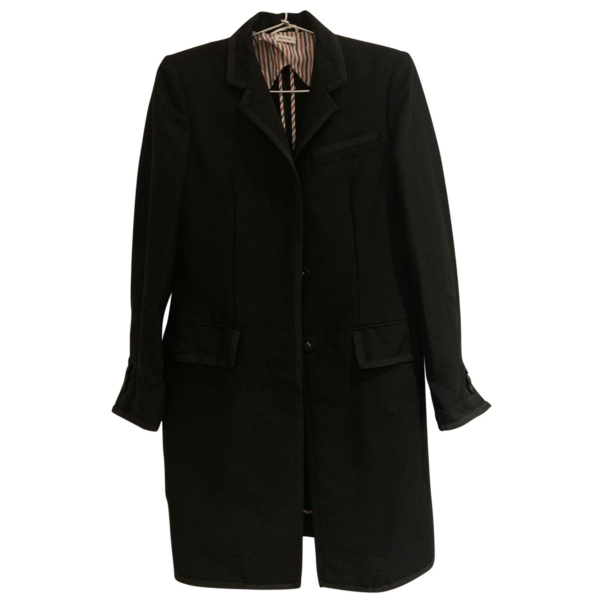 Thom Browne \N Black Wool jacket for Women 36 FR