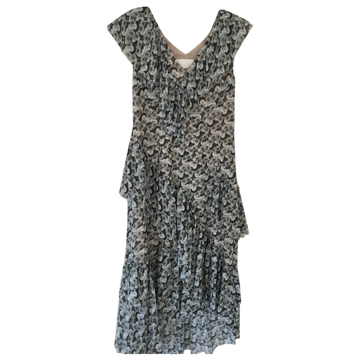 H&m Conscious Exclusive \N Blue dress for Women 42 FR