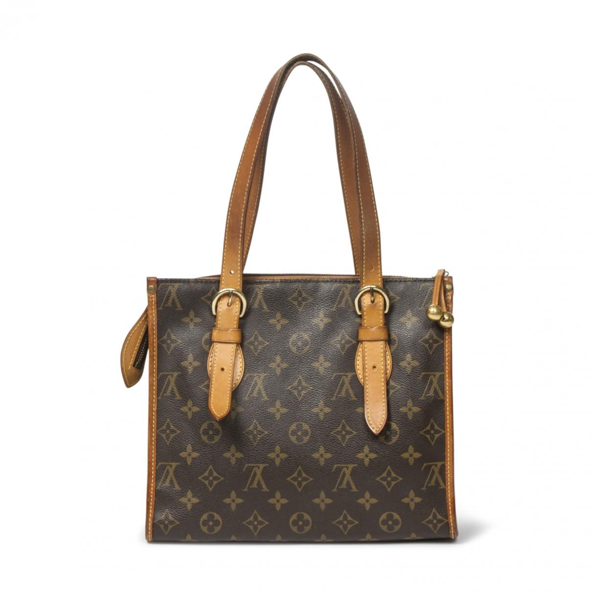 Louis Vuitton Popincourt Handtasche in  Braun Leder