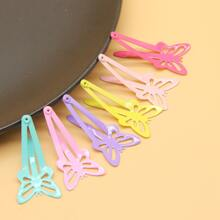 6pcs Butterfly Shaped Hair Clip