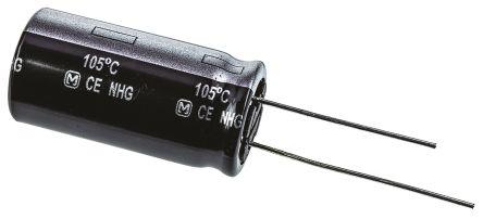 Panasonic 47μF Electrolytic Capacitor 400V dc, Through Hole - ECA2GHG470 (5)