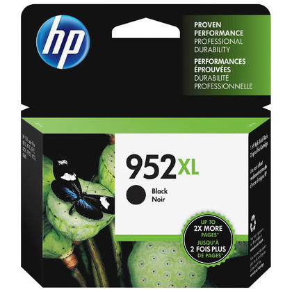 HP 952XL F6U19AN Original Black Ink Cartridge High Yield