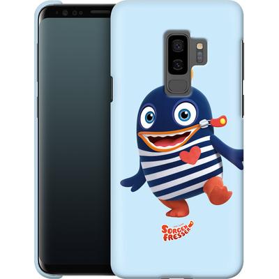Samsung Galaxy S9 Plus Smartphone Huelle - Sorgenfresser Ping von Sorgenfresser