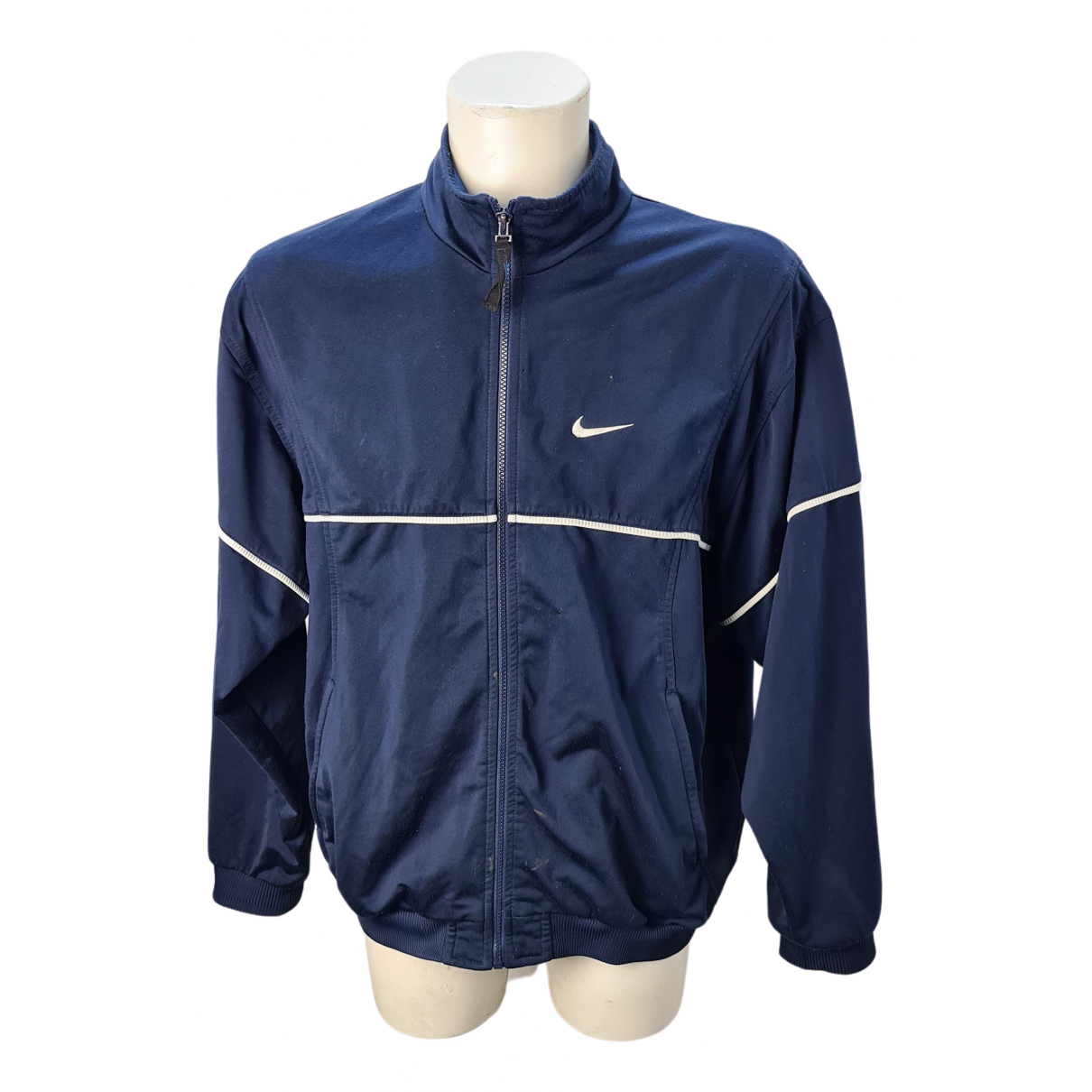 Nike \N Jacke in  Blau Synthetik