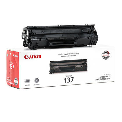 Canon 137 9435B001 Original Black Toner Cartridge