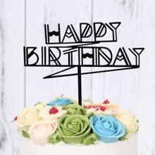 1 pieza decoracion de pastel de cumpleaños