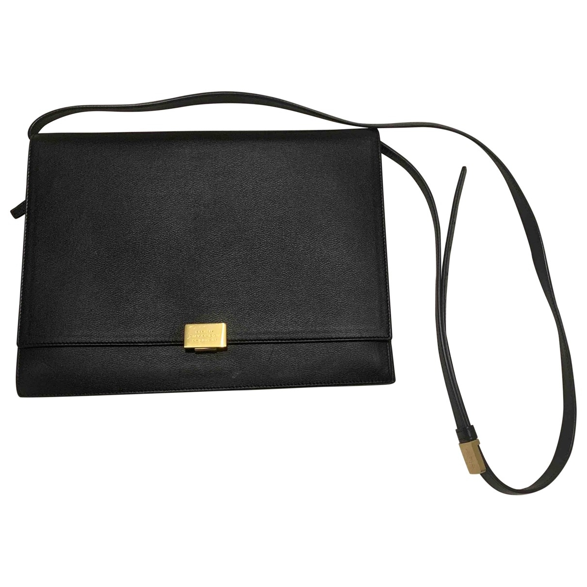 Smythson \N Black Leather handbag for Women \N