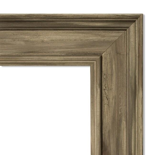 Wall Mirror, Alexandria Greywash (42 x 30-inch - Large (over 32'' high))