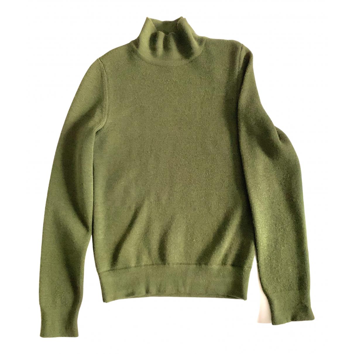Balenciaga \N Pullover.Westen.Sweatshirts  in  Gruen Wolle