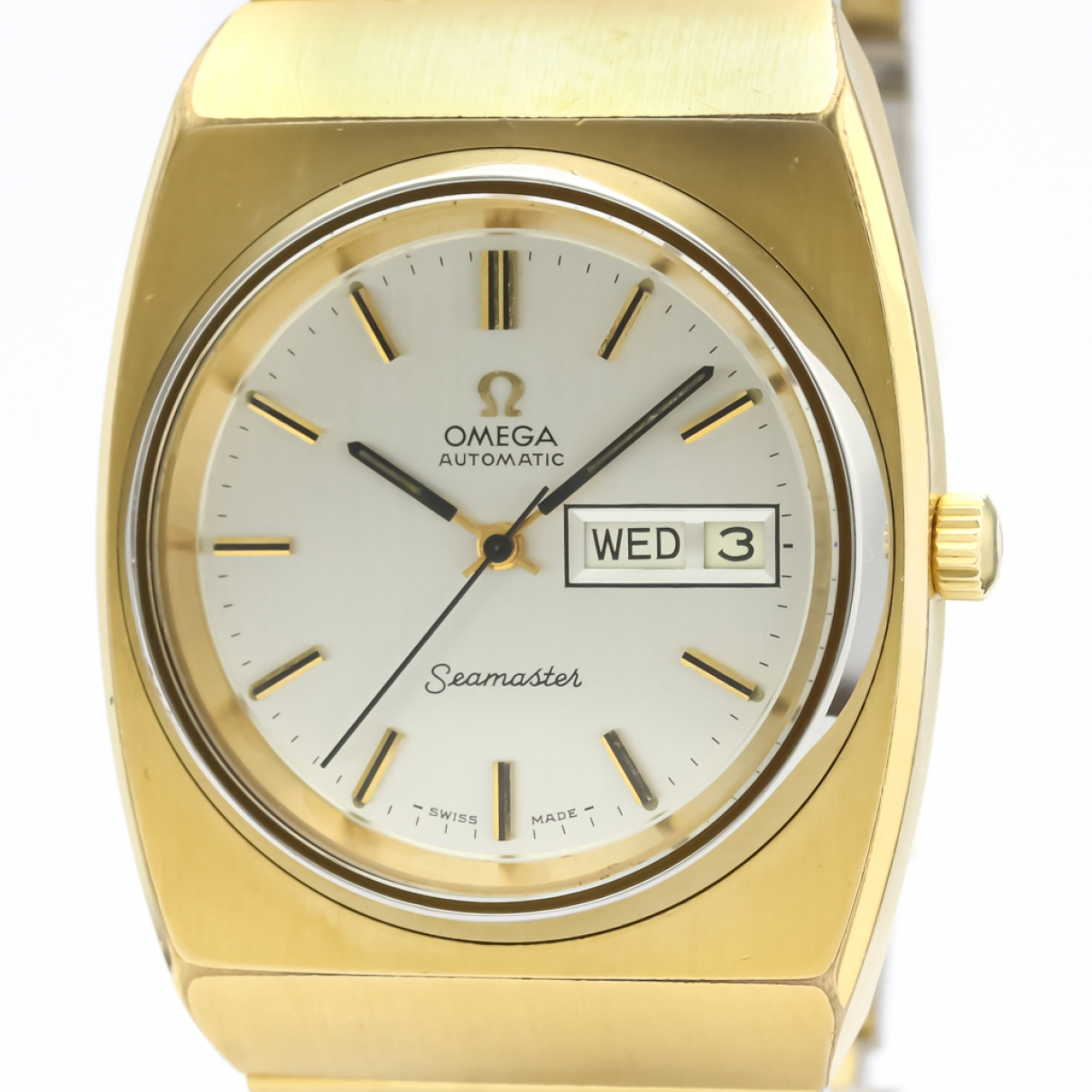 Omega Seamaster Gold Gold plated watch for Men \N
