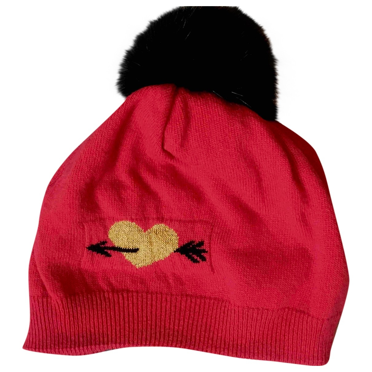 Moschino \N Red Wool hat for Women M International