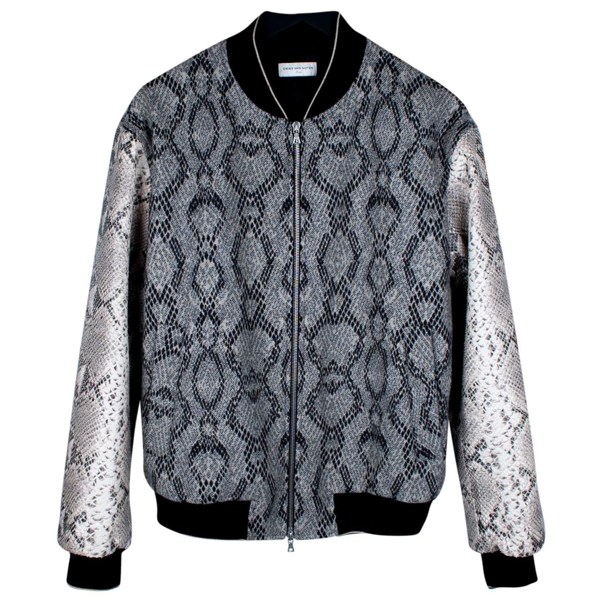 Dries Van Noten \N Grey Wool jacket  for Men L International