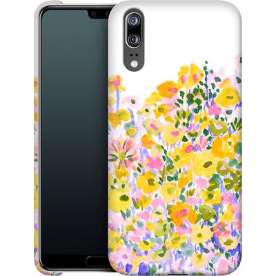 Huawei P20 Smartphone Huelle - Flower Fields Sunshine von Amy Sia