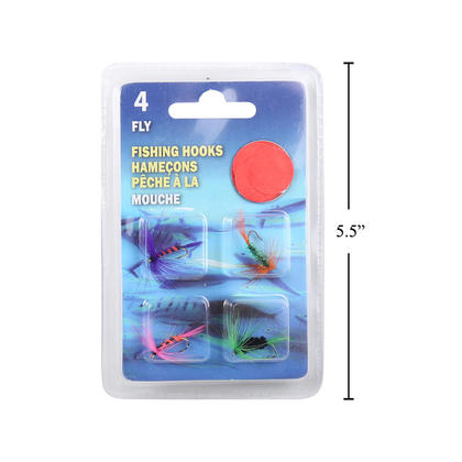 Fishing 4pcs Fly Hooks