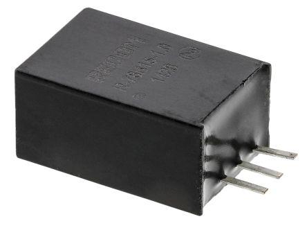 Recom Through Hole Switching Regulator, 15V dc Output Voltage, 32V dc Input Voltage, 1A Output Current
