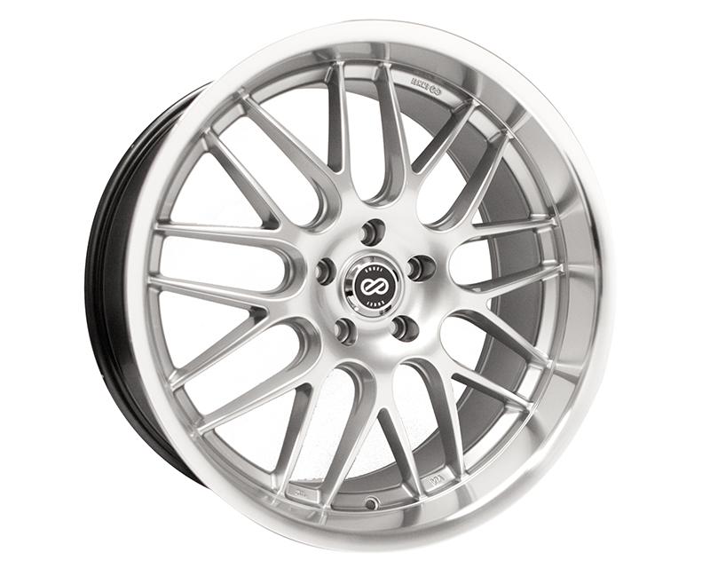 Enkei LUSSO Wheel Performance Series Hyper Silver 18x7.5 5x100 42mm