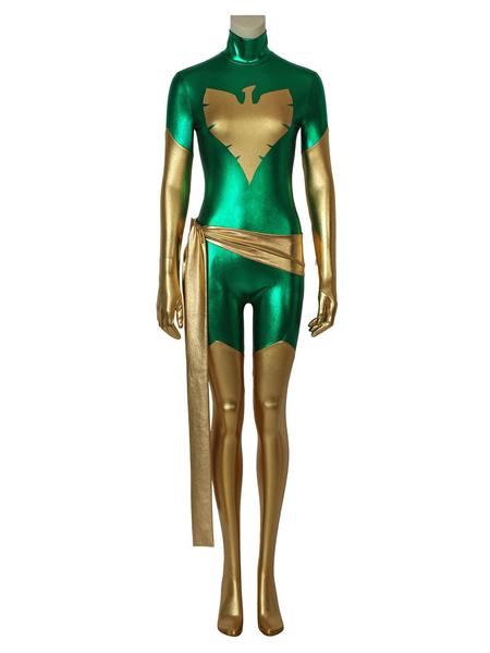 Milanoo Marvel Comics X Men Phoenix Carnival Cosplay Costume