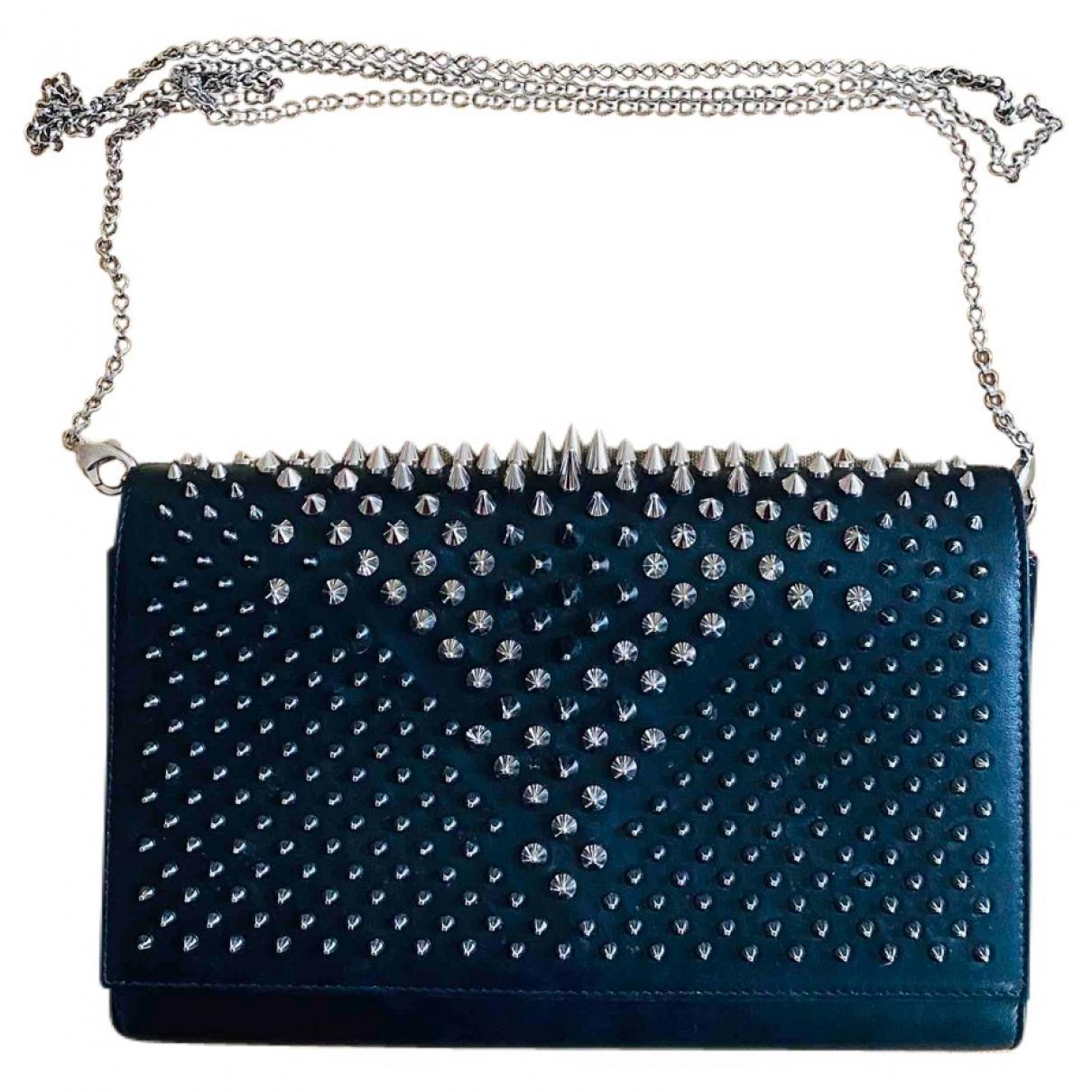 Christian Louboutin Paloma Black Leather handbag for Women \N