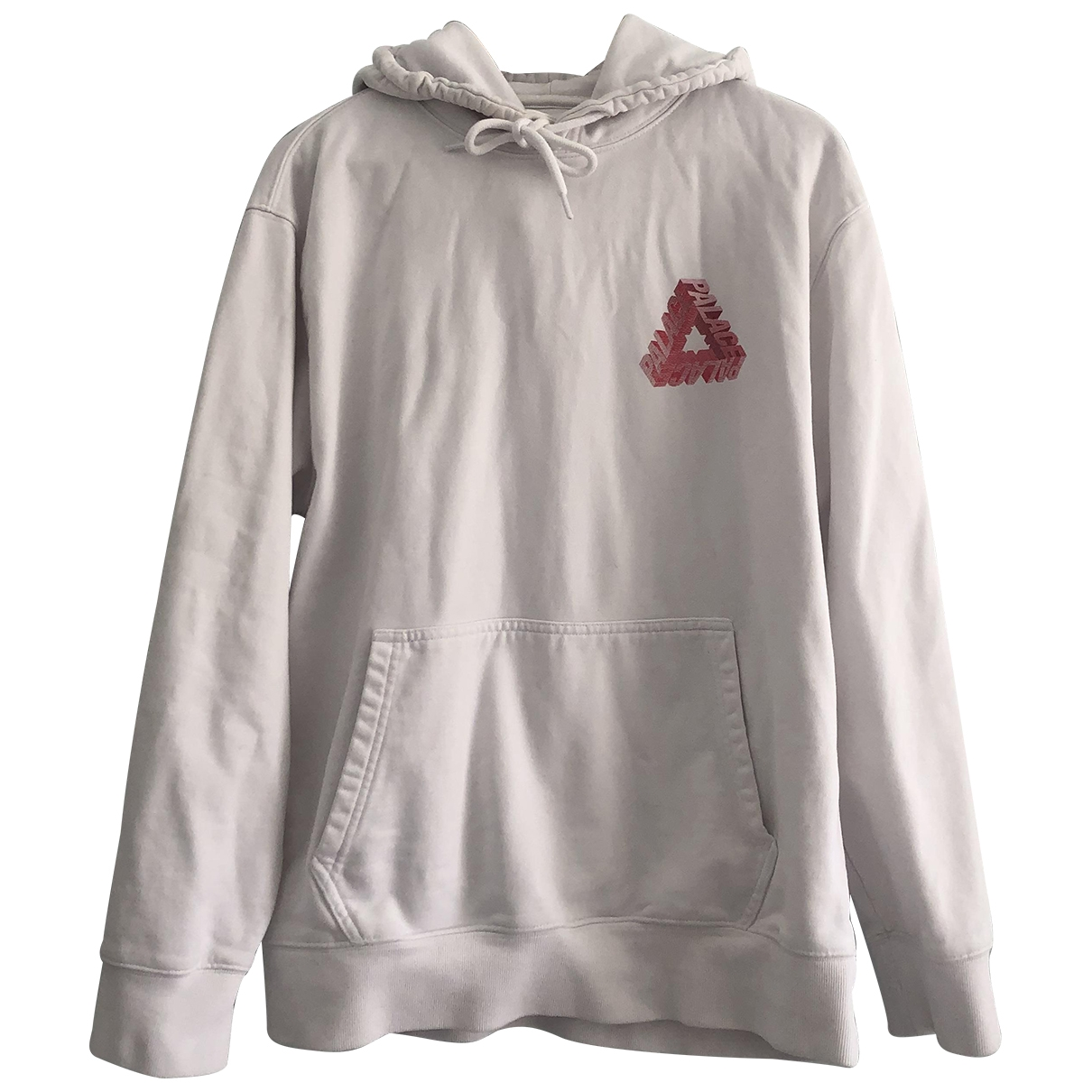 Palace \N Pullover.Westen.Sweatshirts  in  Weiss Baumwolle