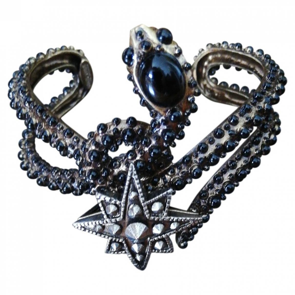 Roberto Cavalli - Bracelet   pour femme en metal - noir
