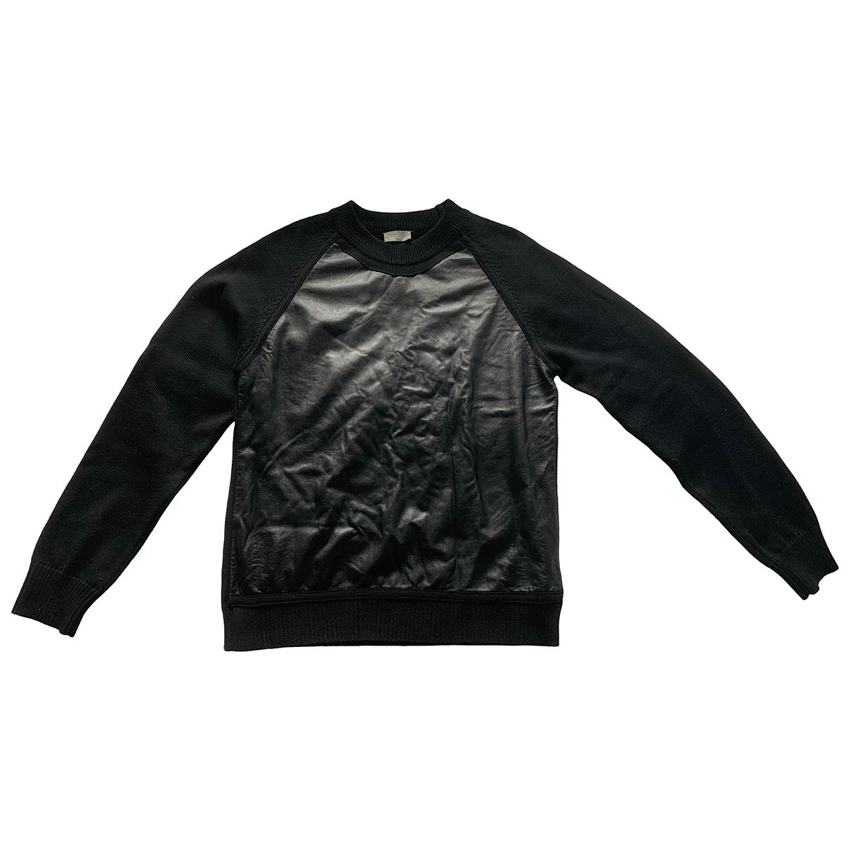 Dior Homme \N Black Leather Knitwear & Sweatshirts for Men L International