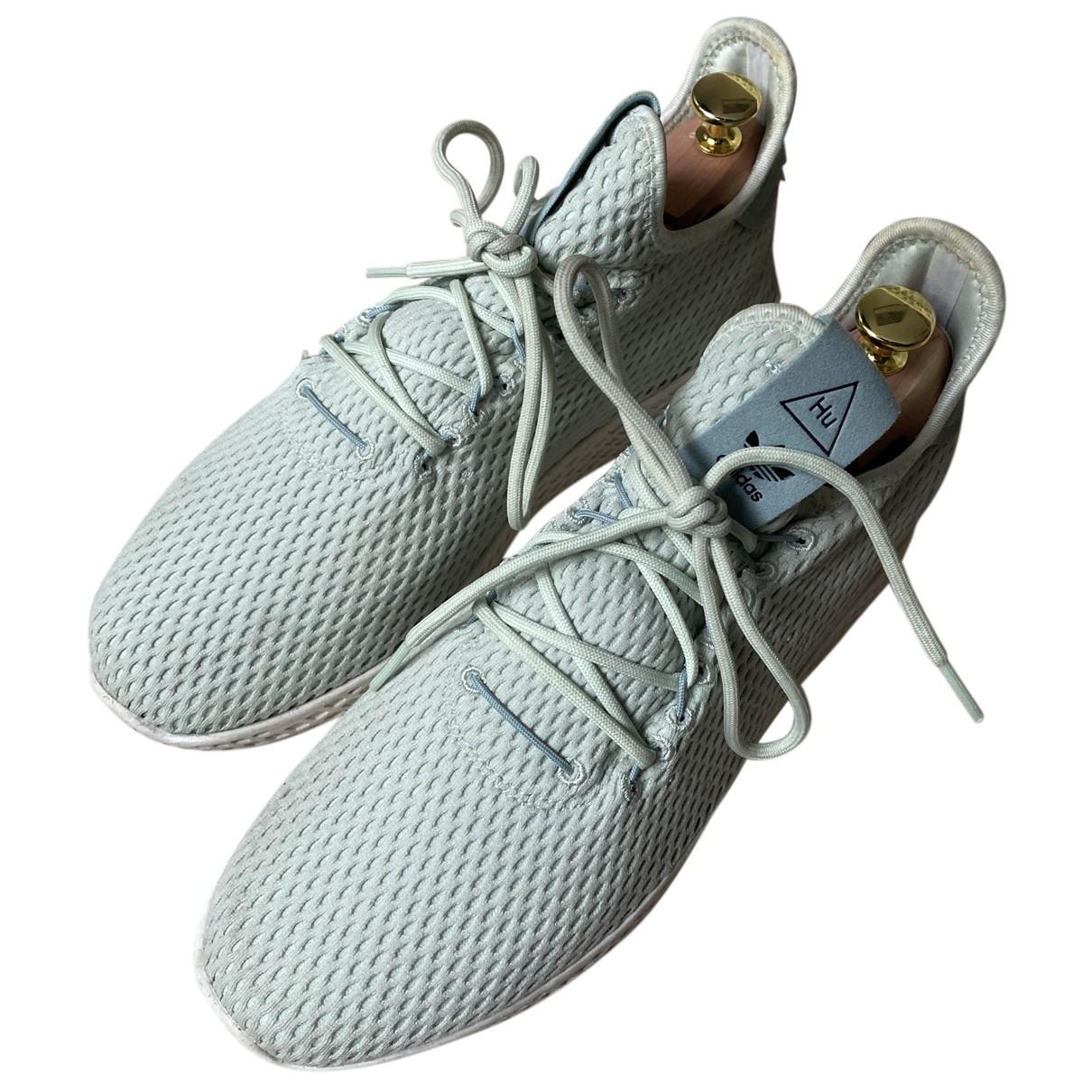 Adidas X Pharrell Williams \N Sneakers in  Gruen Leinen