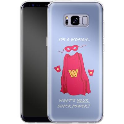Samsung Galaxy S8 Plus Silikon Handyhuelle - Superpower von caseable Designs