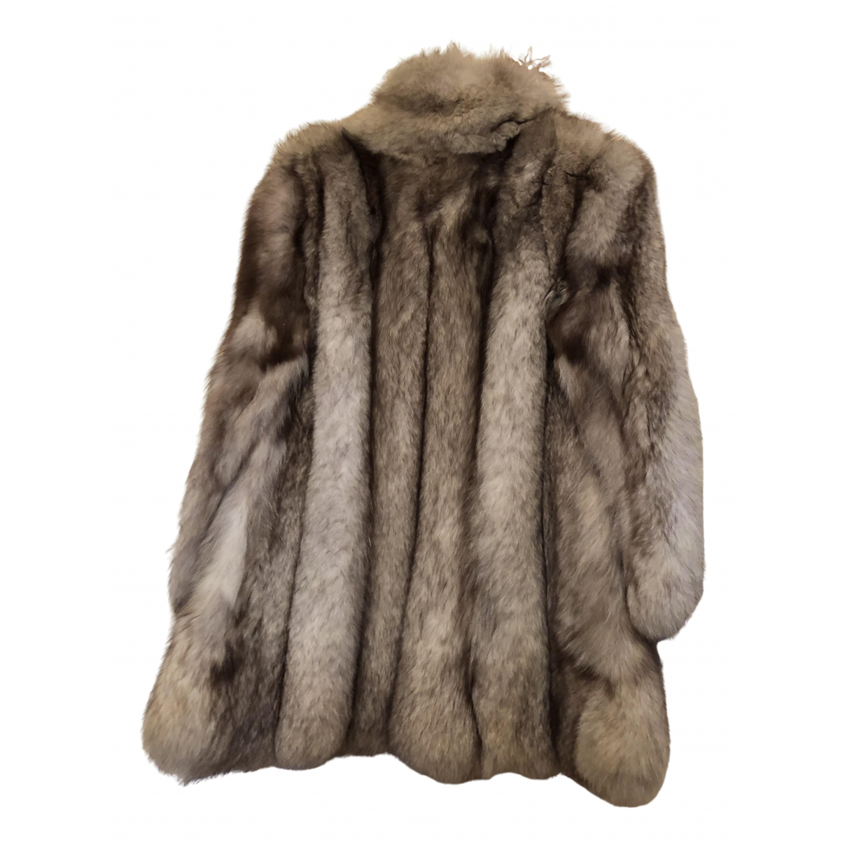Non Signé / Unsigned \N Silver Fox jacket for Women 40 FR