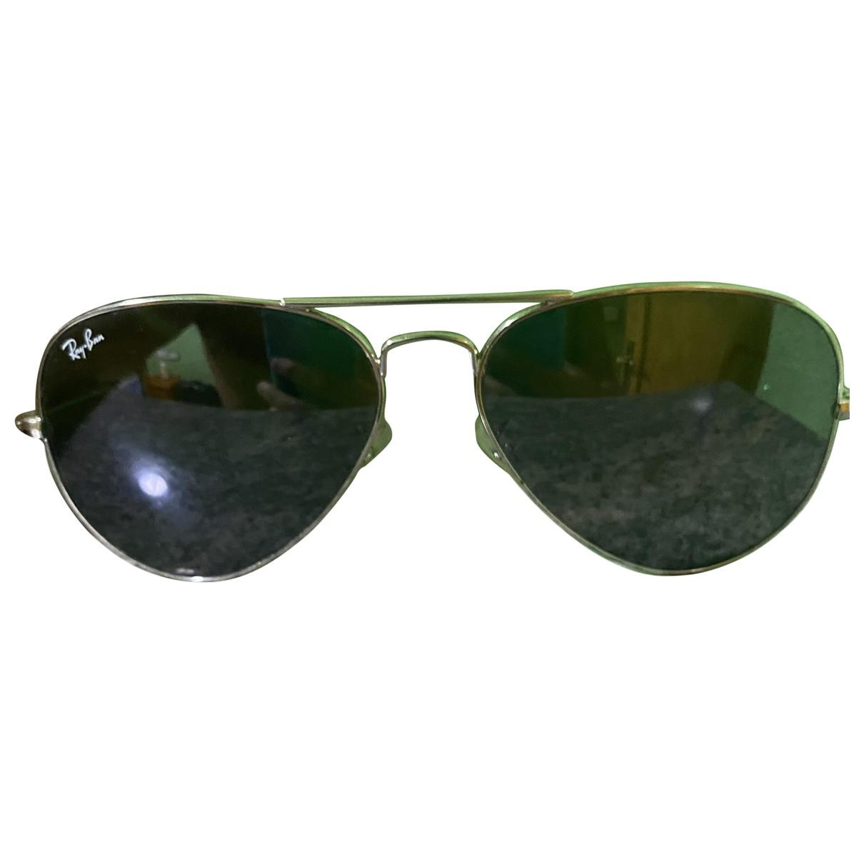 Ray-ban Aviator Silver Metal Sunglasses for Men \N