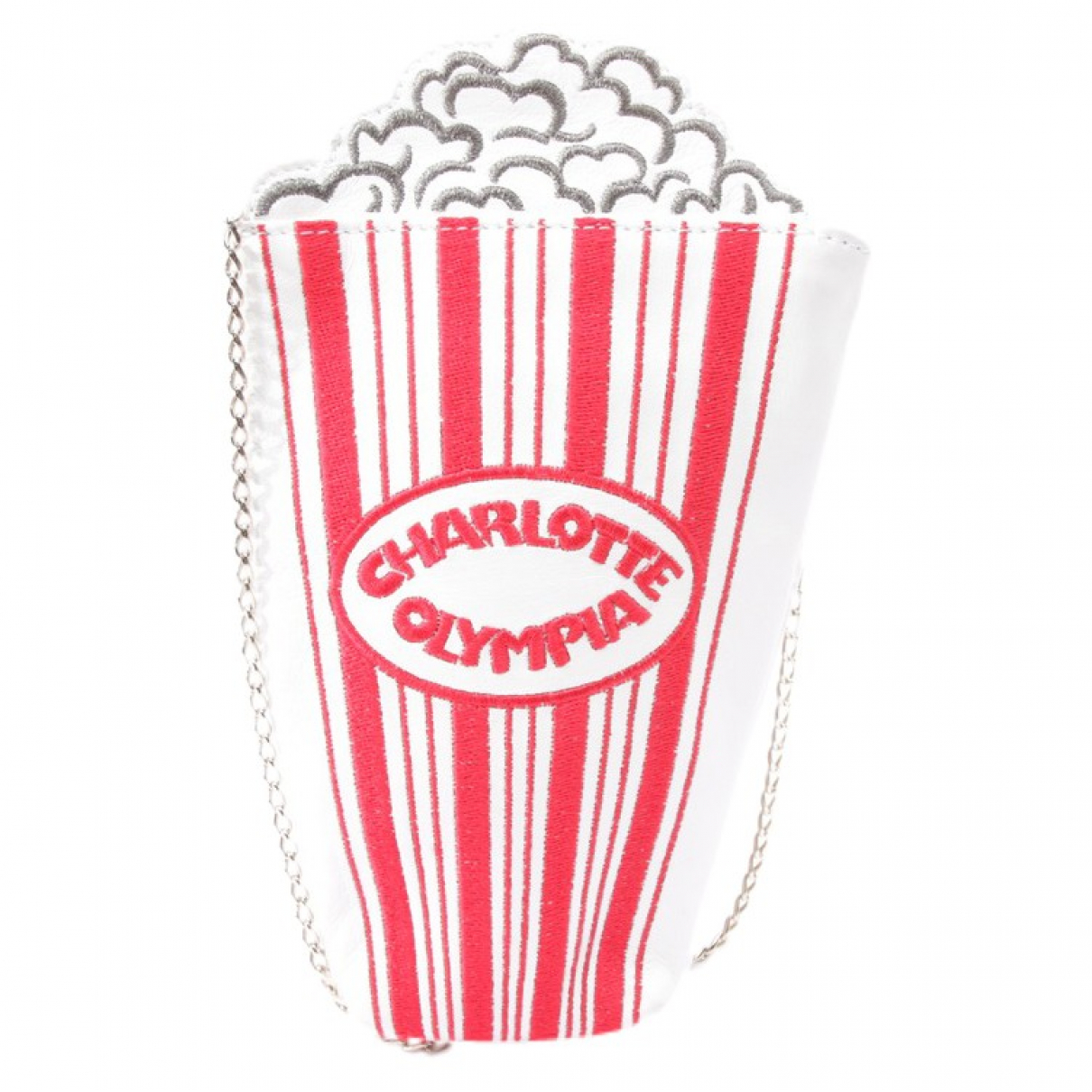 Charlotte Olympia \N White Leather Clutch bag for Women \N
