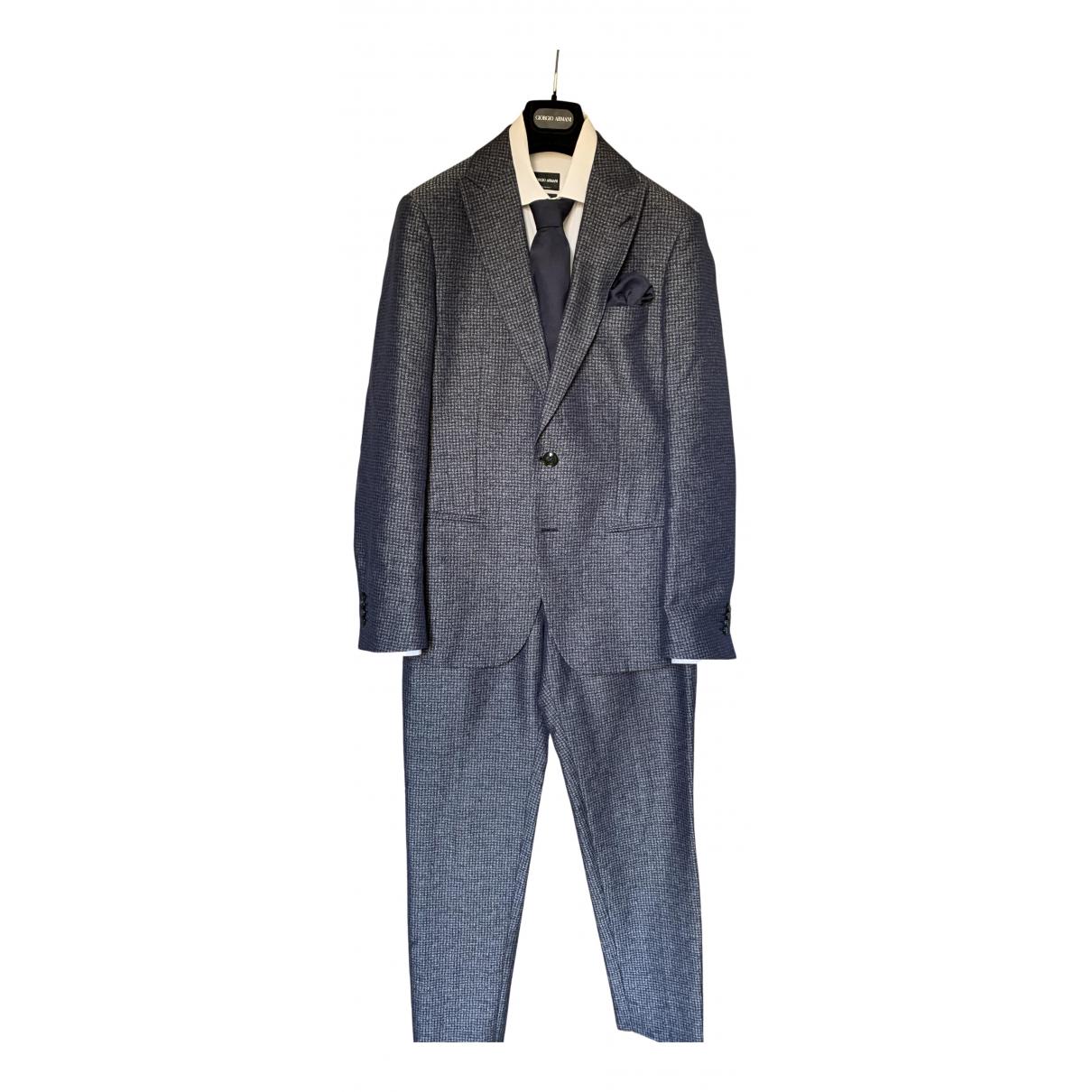 Giorgio Armani - Costumes   pour homme en autre - bleu
