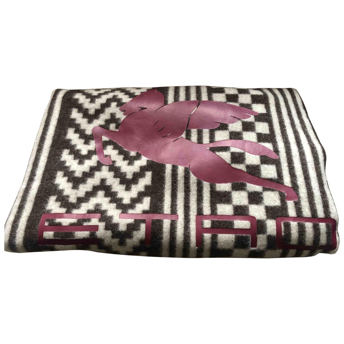 Etro - Linge de maison   pour lifestyle en laine - gris
