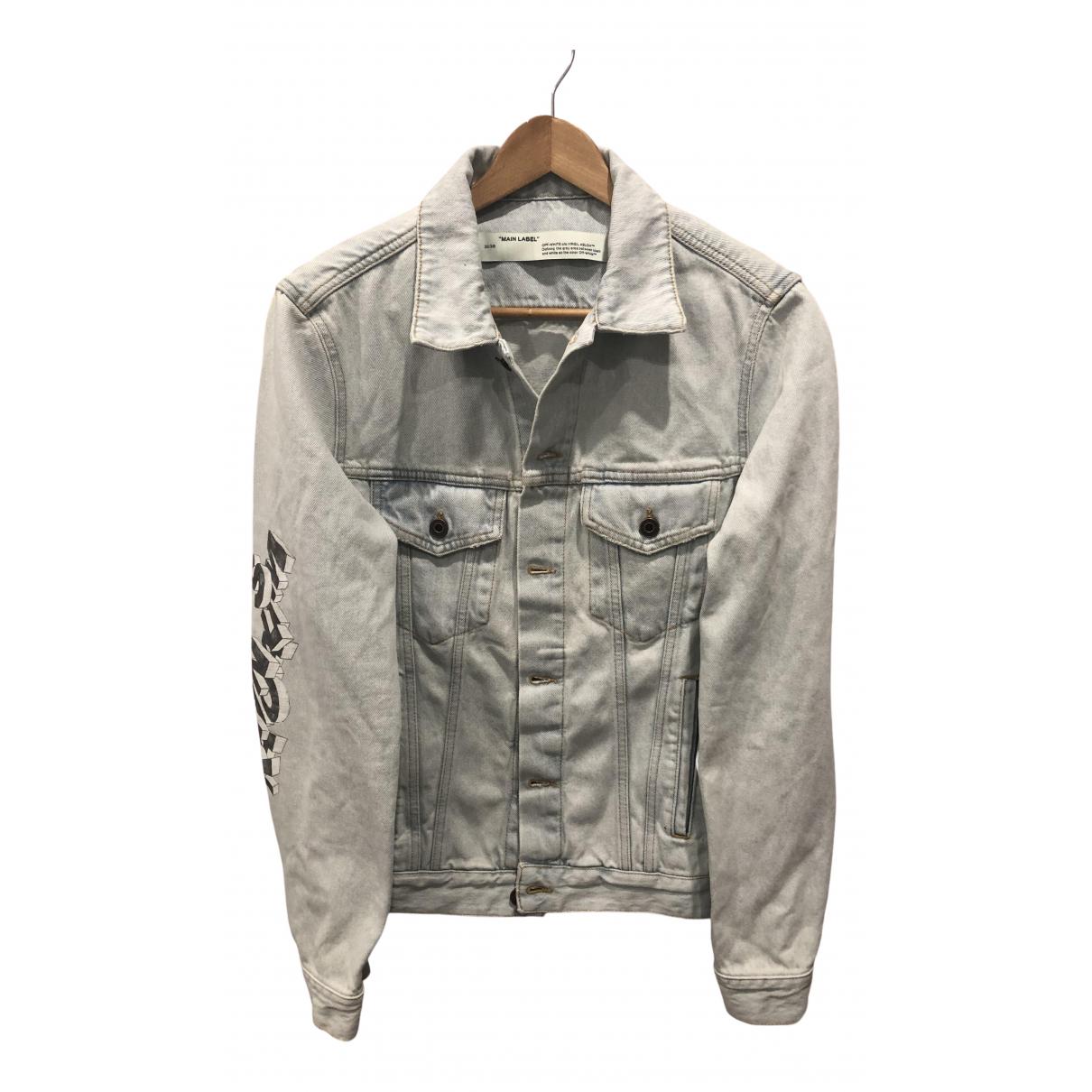 Off-white \N Grey Denim - Jeans jacket  for Men 40 UK - US