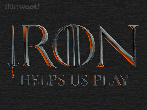 Liver (iron Helps Us Play) T Shirt
